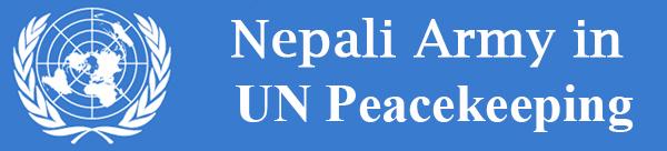 Nepali Army in UN