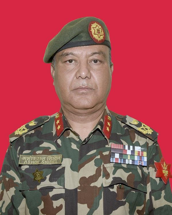 Biography of Major General Ashok Raj Sigdel Kshatri