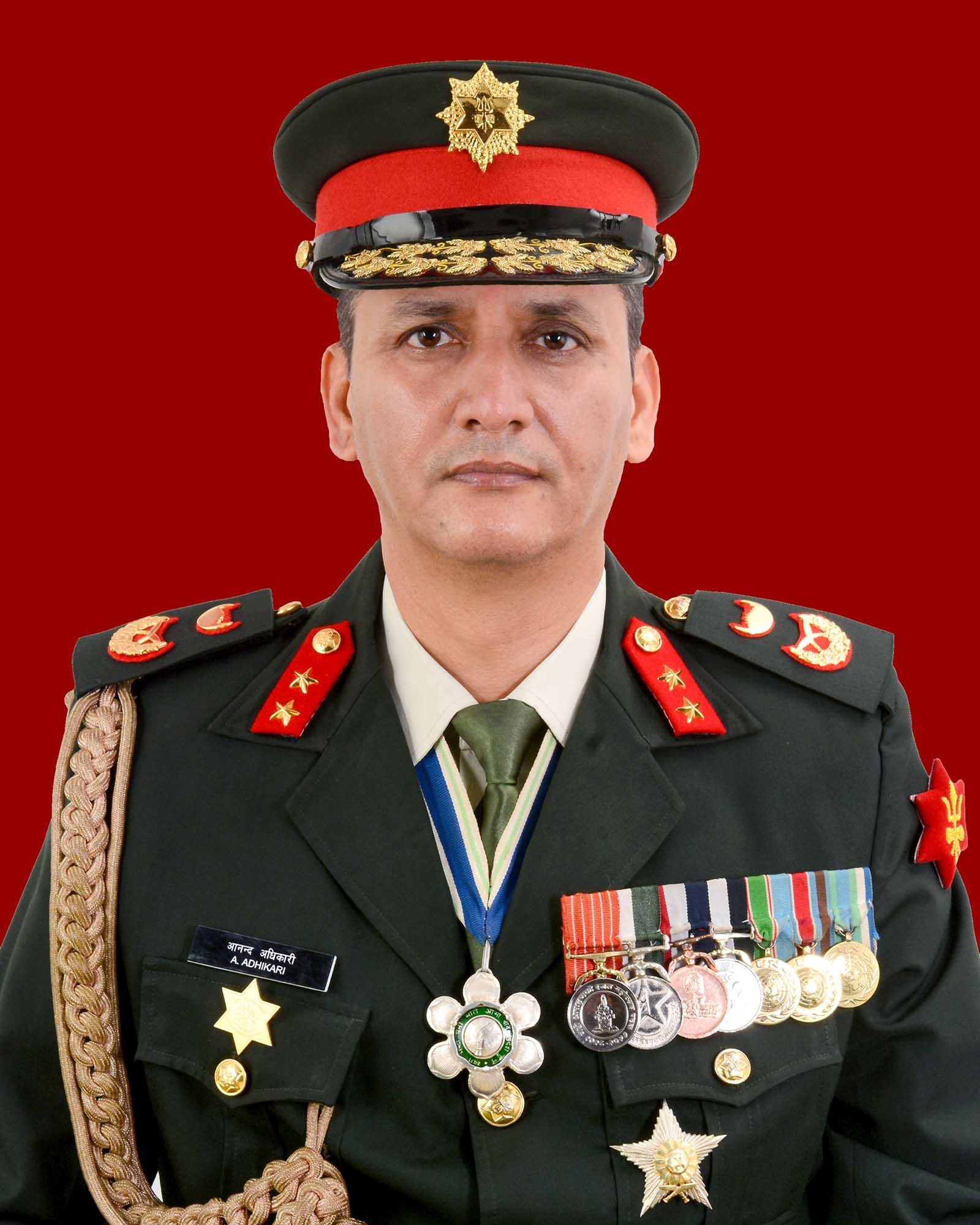 Major General Anand Kumar Adhikari