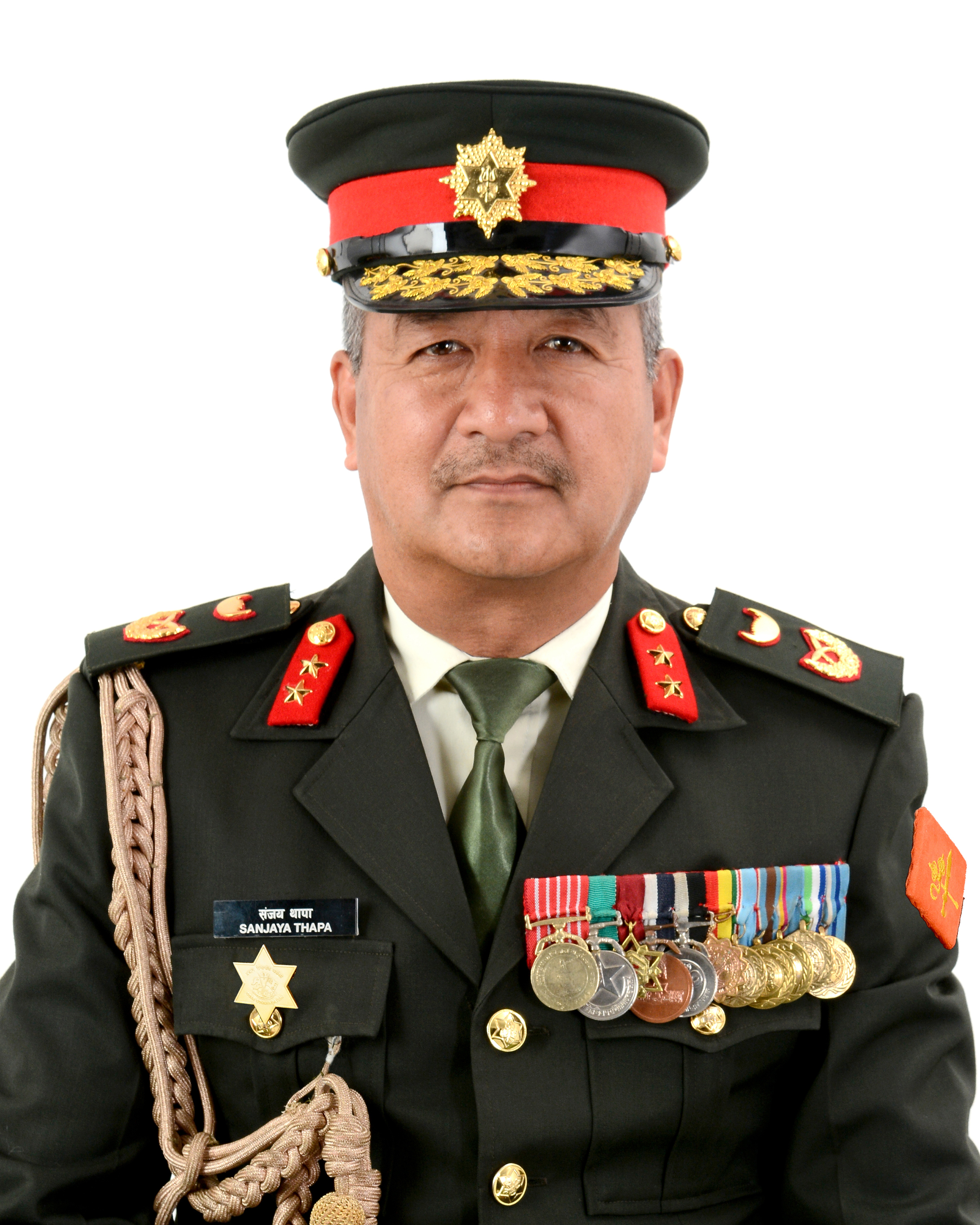 Major General Sanjaya Thapa