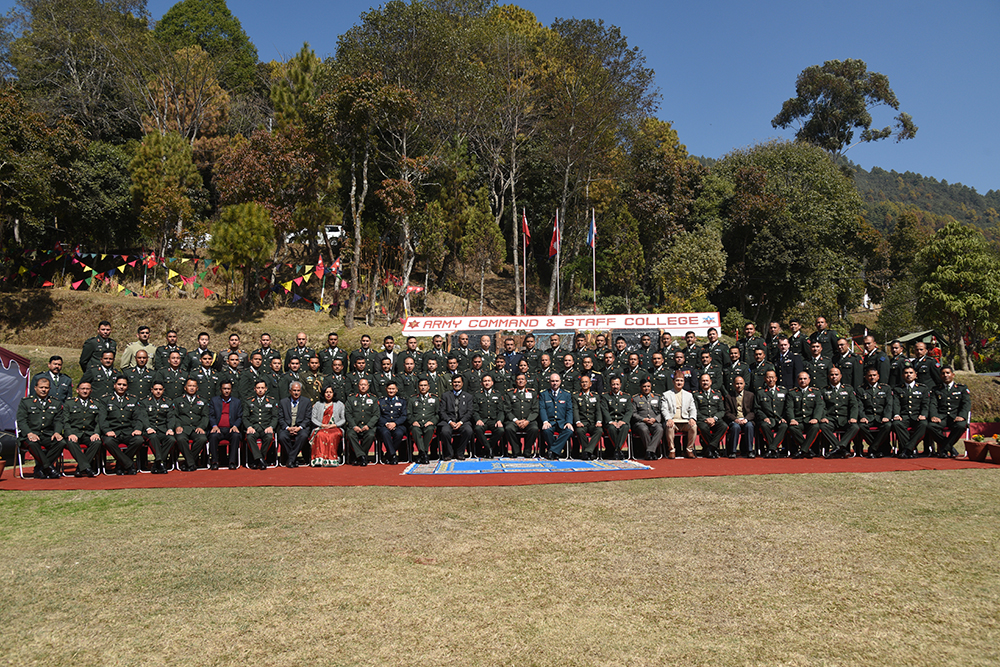 S.N. 25 Command and Staff Course Graduation Ceremony Held