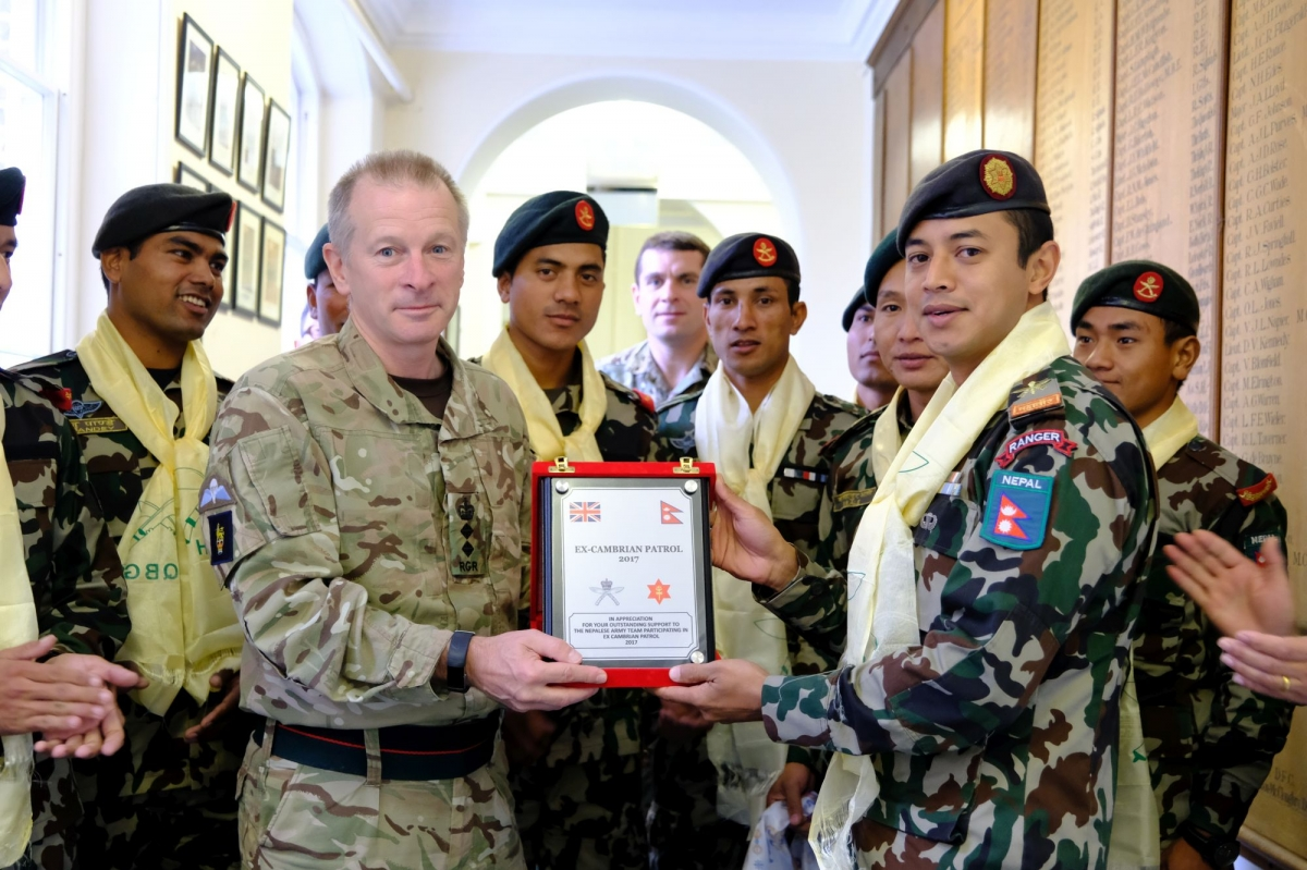 Nepal Army bags gold in Cambrian Patrol 2017