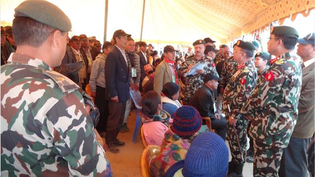 'Ex-Servicemen Gathering-2074' concludes