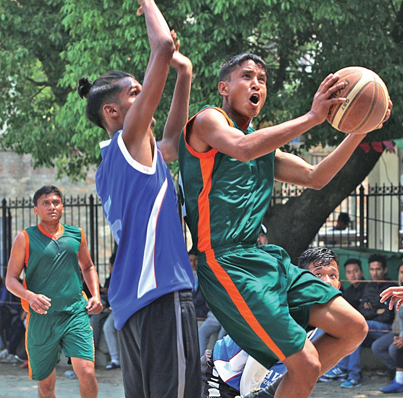 TAC Clinches Basketball Title