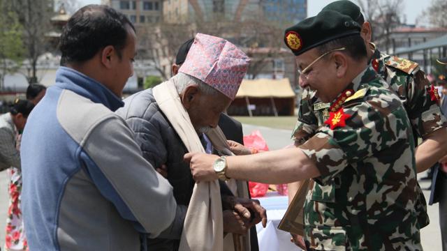 'Ex-Servicemen Gathering -2074' Concludes