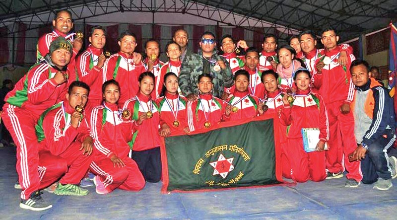 Tribhuwan Army Club win wushu team title