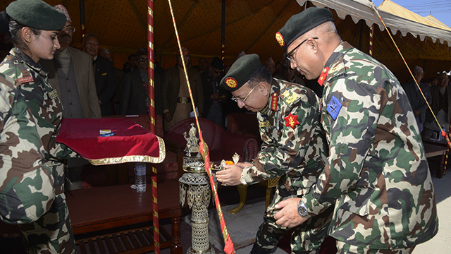 Nepali Army Photo Exhibition Kicks Off