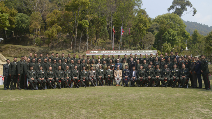 Ser No. 25 Command and Staff Course commences
