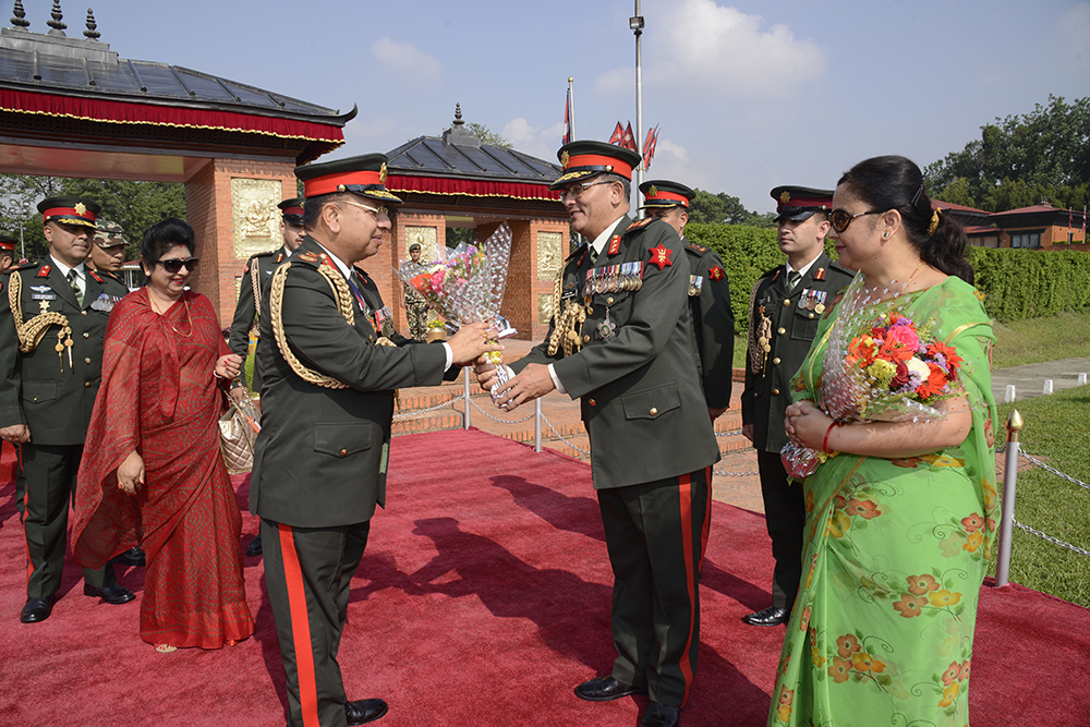 COAS Departs for India