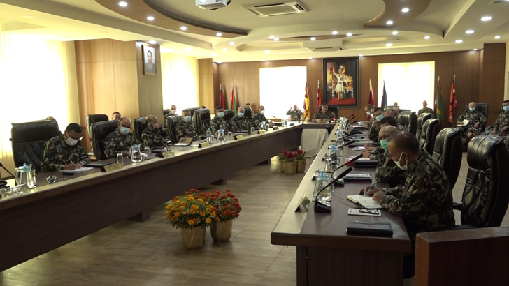 Division Commander's Coordinating Conference' Held