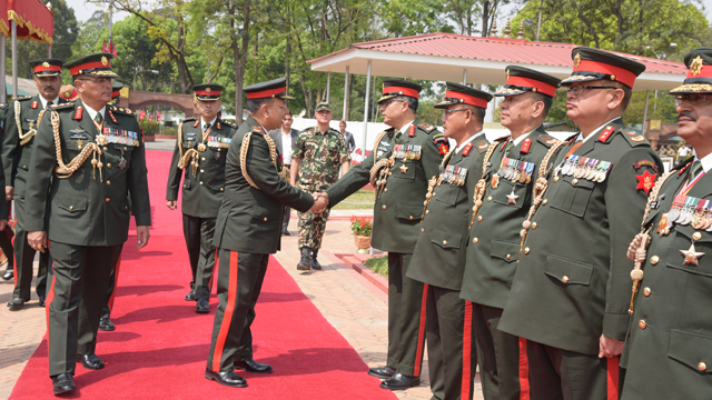 COAS Gen Chhetri Departs for DR Congo