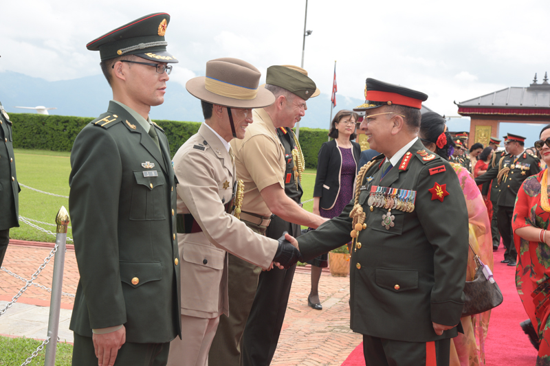 COAS Returns from China/Myanmar Visit