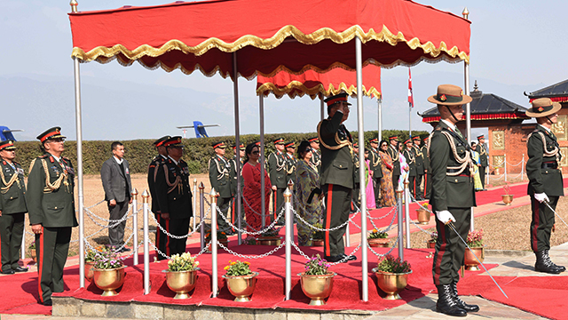 COAS Returns from Sri Lanka