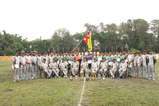 'DIVISION COMMANDER TROPHY-2076' CONCLUDED IN VALLEY DIVISION HQS