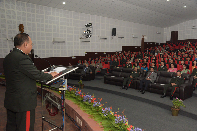 S.N. 5 'Higher Command and Management Course' Concludes