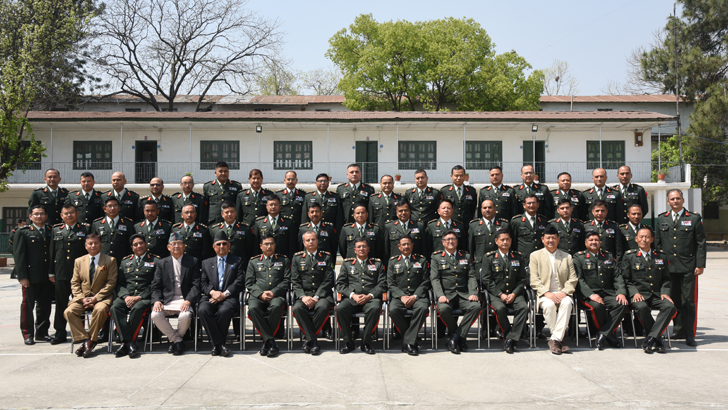 SN 5 Higher Command and Management Course Commences
