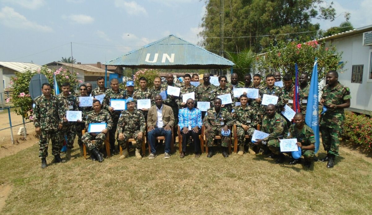 MONUSCO holds HIV Peer Education training workshop in Beni