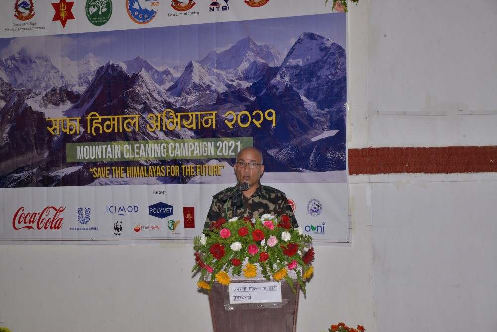 Mountain Cleaning Campaign 2021 Concludes