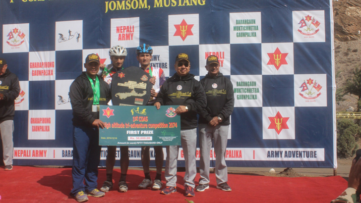 First COAS High Altitude Tri-Adventure  Competition Concludes