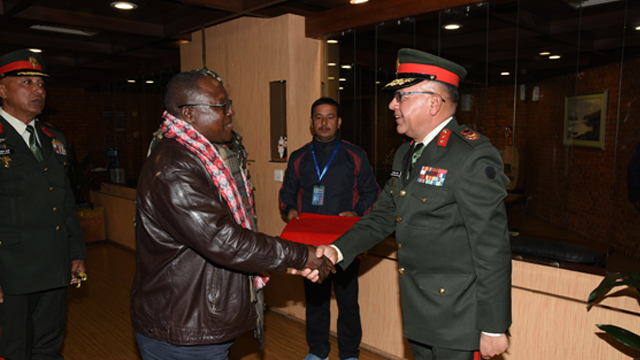 Zambia Army Commander Wraps Up Nepal Visit