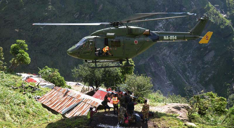 Nepal Army Disaster Management