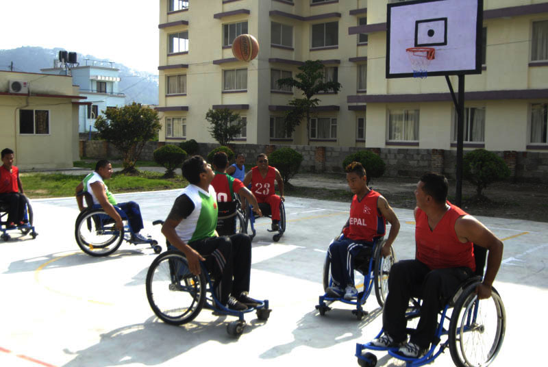 Basketball Tournament for Rahabitational