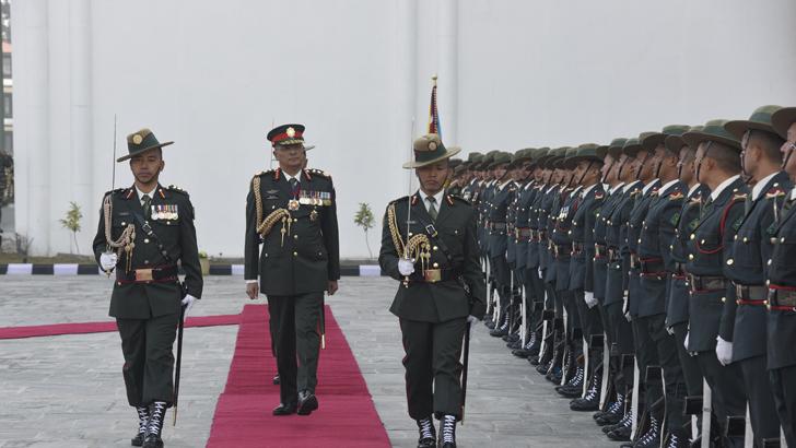 COAS Departs for Bangladesh