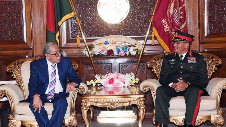 COAS Calls on President of Bangladesh