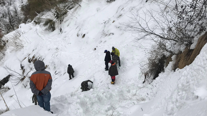 Search and Rescue Operation by Nepali Army