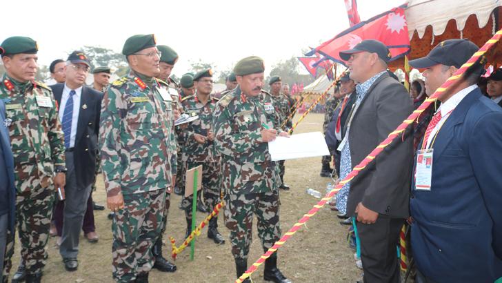 'NA Ex-Servicemen Gathering-2076'