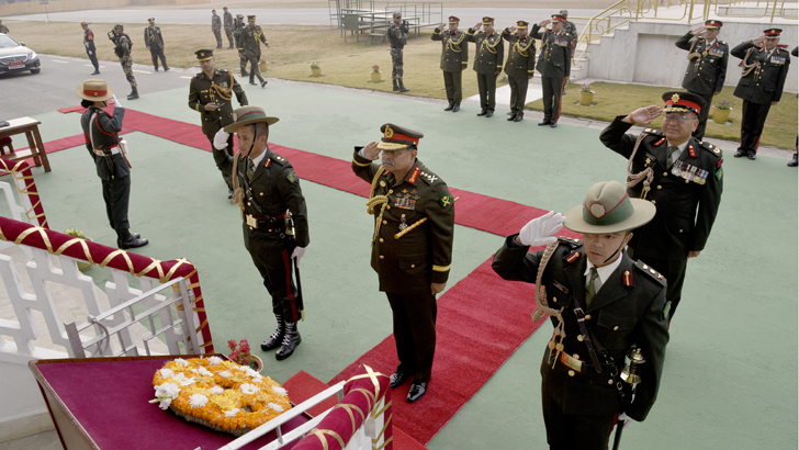 Bangladesh Army Chief's Nepal Visit