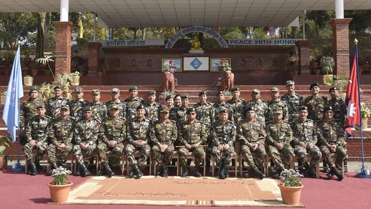 General Aziz Ahmed Visits BPOTC