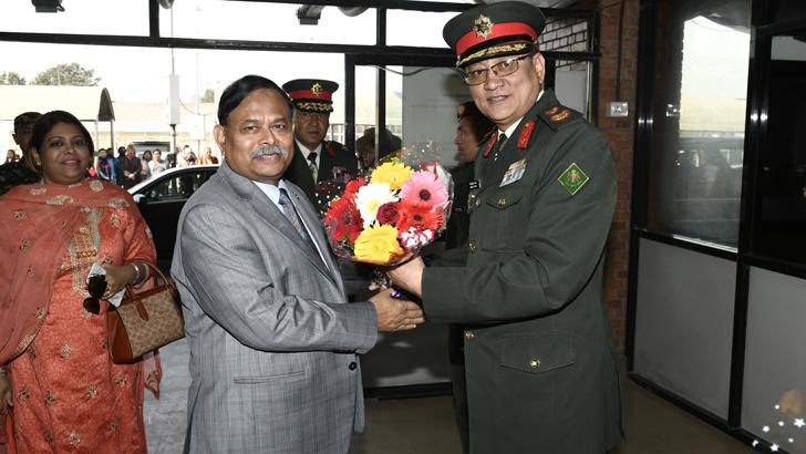 Bangladesh Army Chief Wraps up Nepal Visit