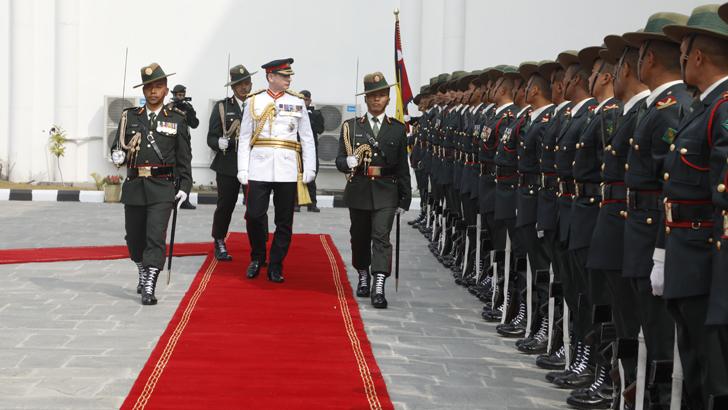 General Sir Mark Carleton-Smith's Nepal Visit