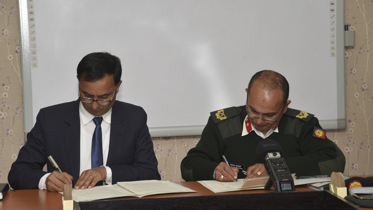MoU Signed between CTEVT & SEME, Nepali Army