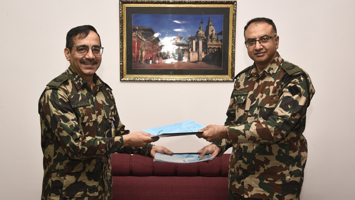 Brig Gen Poudyal Takes Over as NA Spokesperson