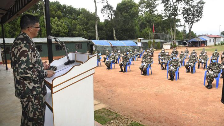 COAS at Bishnudal Battalion
