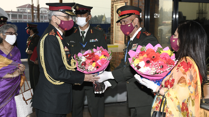 Indian COAS Concludes His Visit