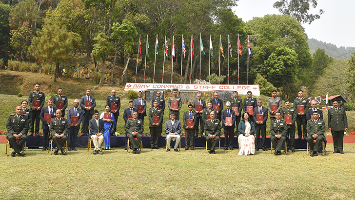 SN 6 Advanced Course on National Security Concludes