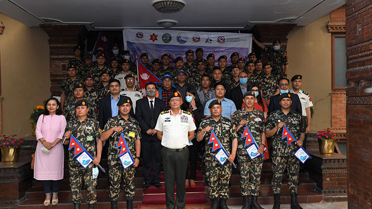 'Mountain Cleaning Campaign-2021' Banner Handover Ceremony Held