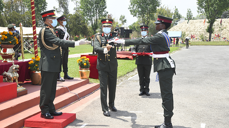 Officer Cadet Course-59 and TOBC Commissioning Parade Held