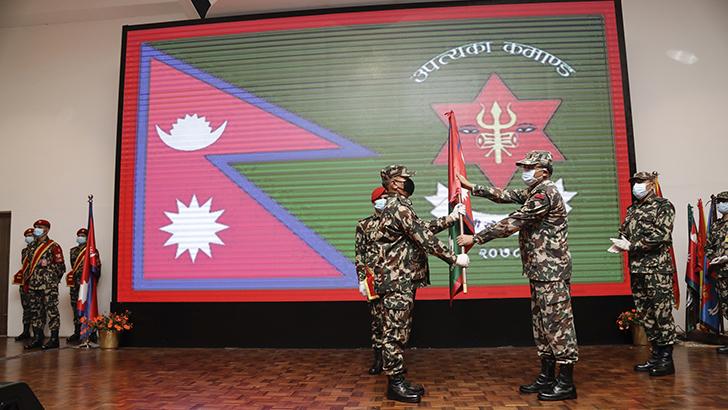 Command Flag Handover Ceremony