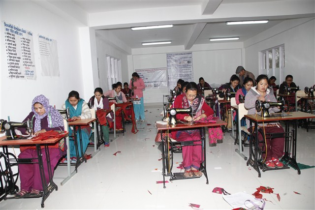 NAWA Sewing Training